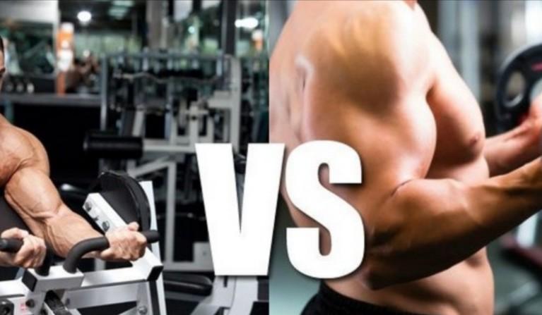 Máquinas vs Pesos Livres